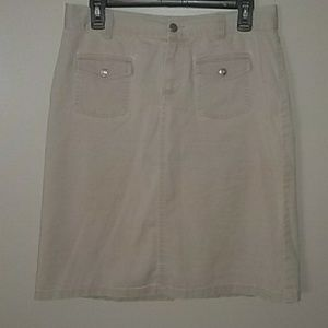 Ralph Lauren Polo Jeans Co khaki skirt